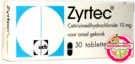 Zyrtec Cetirizine HCL 10mg  UCB