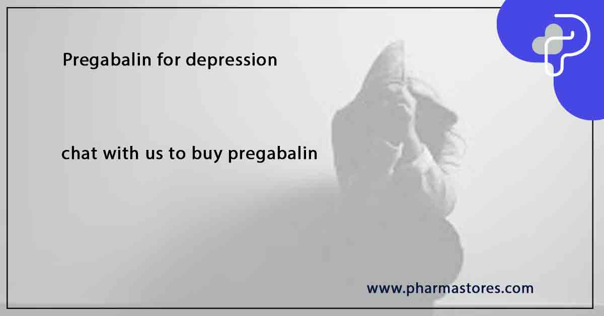 Pregabalin for depression